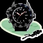 Montres et ordinateurs apnée et Chasse sous-marine
