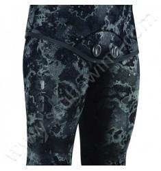 Pantalon de combinaison de chasse EXPLORER Camo Noir