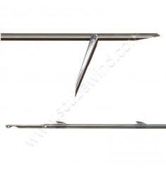 Flèche tahitienne planante a ailerons soudés et simple ardillon 7mm