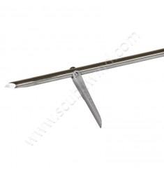 Flèche tahitienne planante Inox Rockwell 6,5mm