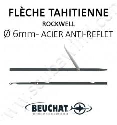 Flèche Tahitienne Rocksteel anti-reflet noir 6mm