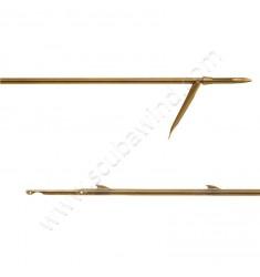 Flèche tahitienne à ailerons soudés et simple ardillon 6,5mm