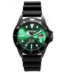 Montre GB 1950 Ø44mm verte et bracelet noir