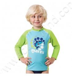 Top rash guard Junior manches longues (de 2 à 7ans)