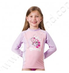 Top rash guard Junior manches longues (de 2 à 7ans)
