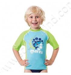 Top rash guard Junior manches courtes (de 2 à 7ans)