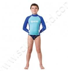 Top rash guard Junior manches longues (de 8 à 13ans)