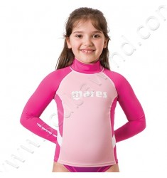 Top rash guard Junior manches longues (de 8 à 13ans)