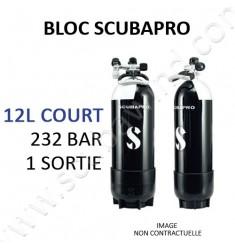 Bouteille 12L court / 1 sortie (2019)