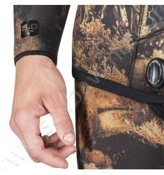 Veste de combinaison de chasse Squadra Illusion Marron - 5mm