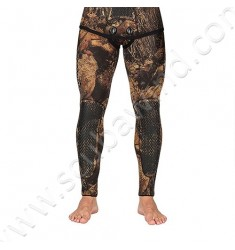 Pantalon de combinaison de chasse Squadra Illusion Marron - 5mm