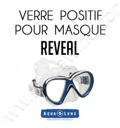 Verre positif pour masque de plongée Reveal
