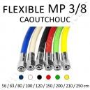 """Flexible MP 3/8"""" en caoutchouc"""