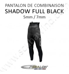 Pantalon Shadow Full Black JAKO