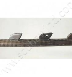 Flèche SANDVIK Ø7mm avec double ardillons - ergot goupille haute