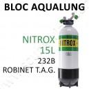 Bloc de plongée 15L Nitrox