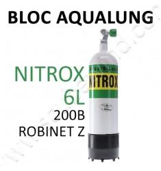 Bloc de plongée 6L Nitrox