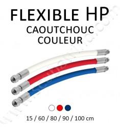 Flexible HP en caoutchouc couleur