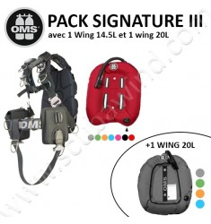 Pack Wing Performance (Double wing 14.5L + 20L)