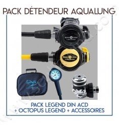 Pack détendeur Legend Din ACD + Octopus Legend