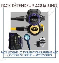 Pack détendeur Legend LX Twilight Din Supreme ACD + Octopus Legend
