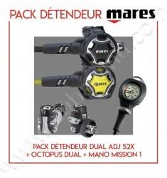 Pack Dual ADJ 52X + Octopus Dual + Mano Mission 1