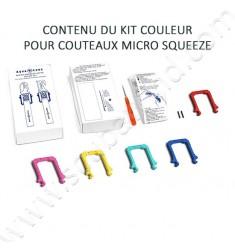 Kit couleurs pour couteaux MICRO SQUEEZE