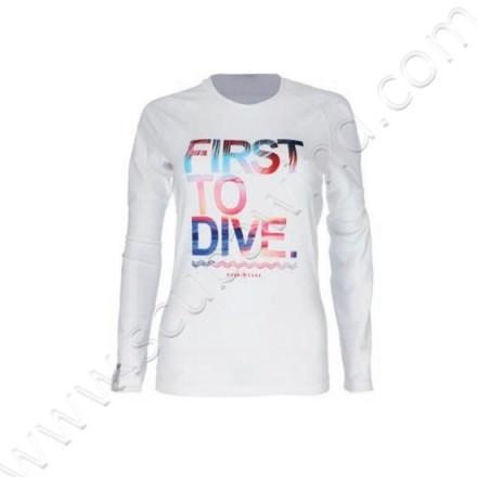 Rashguard First To Dive Femme