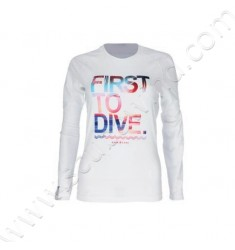 Rashguard First To Dive Femme