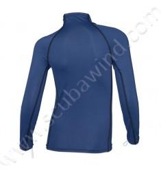 Rashguard Atoll junior manches longues - Ultra Bleu