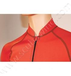Veste Atoll avec zip frontal - Rouge