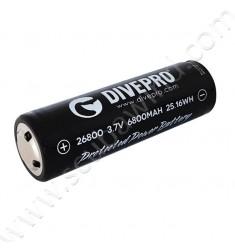 Batterie lithium 26800 (Pour modèle M35)