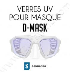 Verre UV pour masque D-Mask