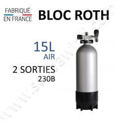 Bloc de 15L Air - 2 sorties