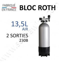 Bloc de 13,5L Air - 2 sorties