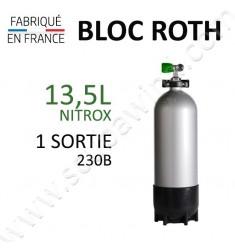 Bloc de 13,5L Nitrox - 1 sortie