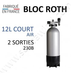 Bloc de 12L Court Air - 2 sorties
