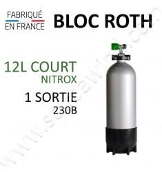 Bloc de 12L Court Nitrox - 1 sortie