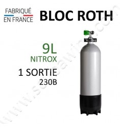 Bloc de 9L Nitrox - 1 sortie
