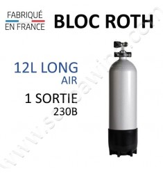 Bloc de 12L Long Air - 230B - 1 sortie