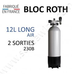 Bloc de 12L Long Air - 230B - 2 sorties