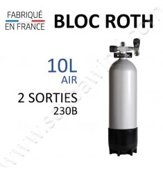 Bloc de 10L Air - 230B - 2 sorties