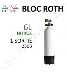 Bloc de 6L Nitrox - 230B - 1 sortie