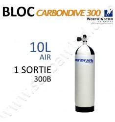 Bloc Carbon de 10L Air - 300B - 1 sortie