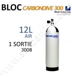Bloc Carbon de 12L Air - 300B - 1 sortie