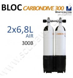 Bi-bloc Carbon de 6,8L- Air - 300B