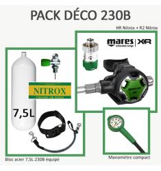 Pack Déco 230B  : Bloc 7,5L équipé + HR/R2