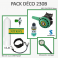 Pack Déco 230B : Bloc Alu 11L équipé + MK2 EVO / R195 Nitrox + Manomètre