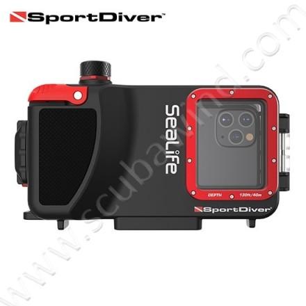 Caisson étanche SportDiver pour iPhone