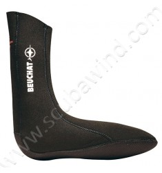 Chaussons Sirocco Sport - lisse - 3mm - Noir